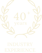 40+ years Industry Experience