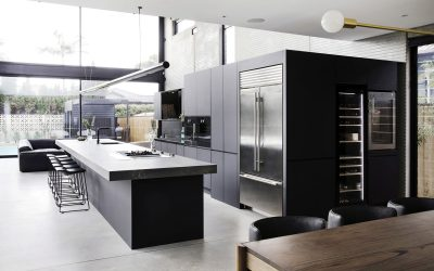 Guy & Jules Sebastian stunning kitchen in their new Maroubra home