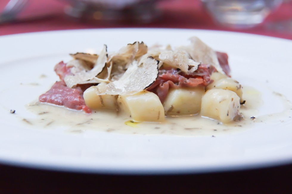Truffle Gnocchi with Dry-Aged Filet Strips