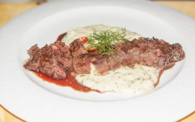 Dry-Aged Beef Fillet with Rosemary mashed Potatoes